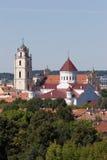 Vilnius churches Royalty Free Stock Image