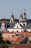 Vilnius churches Royalty Free Stock Photos
