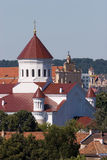 Vilnius churches Stock Image