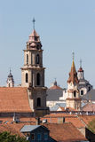 Vilnius Churches Stock Images