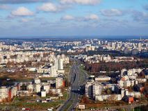 The Vilnius city Stock Image