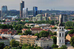 Vilnius city Stock Photos