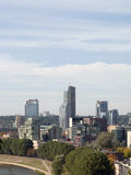 Vilnius city. High rise building district Stock Photo