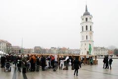 Vilnius city in annual traditional crafts fair: Kaziukas fair Stock Photo