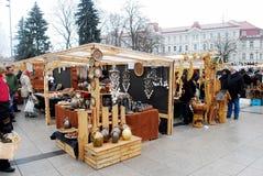 Vilnius city in annual traditional crafts fair: Kaziukas fair Stock Photography