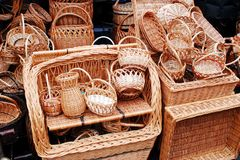 Vilnius city in annual traditional crafts fair: Kaziukas fair Royalty Free Stock Image