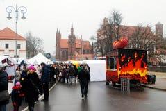 Vilnius city in annual traditional crafts fair: Kaziukas fair Stock Photos