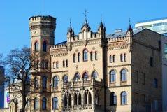 Vilnius city brick architecture Stock Photos