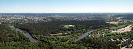 Vilnius city center Royalty Free Stock Photos
