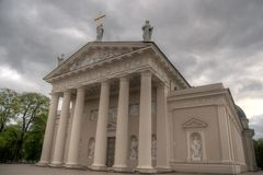 Vilnius city churchs Stock Photos