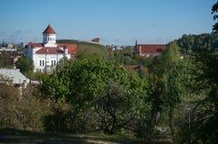 Vilnius city churchs Stock Images