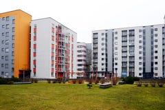Vilnius city houses in Zirmunai district Nord city Royalty Free Stock Photos