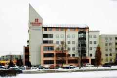 Vilnius city Kardiolita medicine center in Pasilaiciai Stock Image
