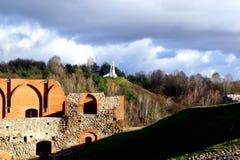 Vilnius city landscape. Vilnius, Lithuania travel enjoying nice city landscapes and architecture details stock images