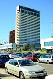 Vilnius city new skyscrapers view on June 6, 2015 Royalty Free Stock Image