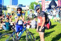 Vilnius city open sport event Vilnius Challenge Stock Photos