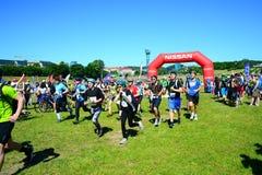Vilnius city open sport event Vilnius Challenge Stock Photography