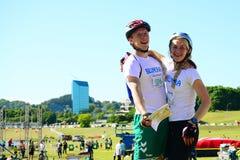 Vilnius city open sport event Vilnius Challenge Royalty Free Stock Image