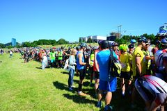 Vilnius city open sport event Vilnius Challenge Royalty Free Stock Photography