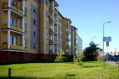 Vilnius city Pasilaiciai district at autumn time Royalty Free Stock Photography
