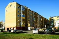 Vilnius city Pasilaiciai district at autumn time Royalty Free Stock Images