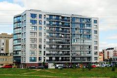 Vilnius city Pasilaiciai district new house Stock Images