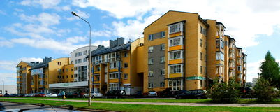 Vilnius city Pasilaiciai district new house Stock Photography