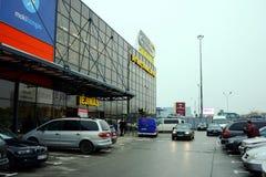 Vilnius city Pasilaiciai district Senukai shop centre Stock Photo