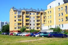 Vilnius city Pasilaiciai district view on summer time Stock Image