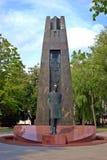 Vilnius city sculpture Vincas Kudirka. Lithuania Royalty Free Stock Image