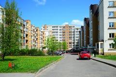 Vilnius city Seskine district new house Stock Images