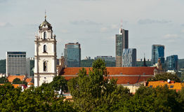 Vilnius City Skyline Royalty Free Stock Photo