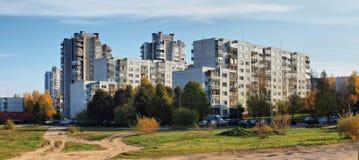 Vilnius city view Stock Photos
