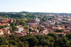 Vilnius cityscape Stock Photography