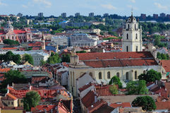 Vilnius cityscape Royalty Free Stock Images
