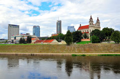 Vilnius cityscape Royalty Free Stock Photo