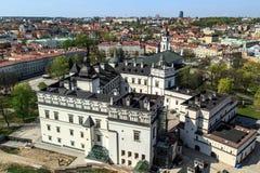 Vilnius Cityscape Stock Image
