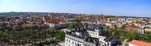 Vilnius Cityscape Royalty Free Stock Image