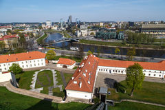 Vilnius Cityscape Royalty Free Stock Photos