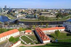 Vilnius Cityscape Royalty Free Stock Photography