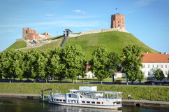 Vilnius cityscape Royalty Free Stock Images