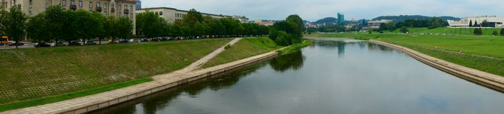 Vilnius Cityscapes Royalty Free Stock Photos