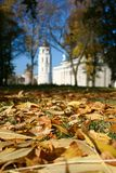 Vilnius in de herfst royalty-vrije stock afbeelding