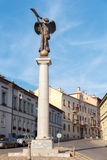vilnius De straten van de stad Royalty-vrije Stock Afbeeldingen