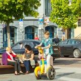 vilnius De straten van de stad Royalty-vrije Stock Fotografie