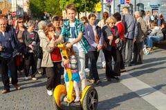vilnius De straten van de stad Royalty-vrije Stock Afbeelding