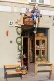 vilnius De straten van de stad Royalty-vrije Stock Foto