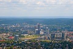 Vilnius downtown Stock Image