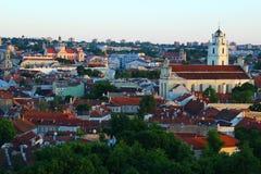 Vilnius durch meine Augen lizenzfreies stockfoto
