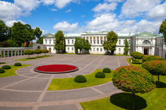 vilnius för tid för uppehåll lithuania för official slottpresident presidents- vinter Royaltyfria Foton